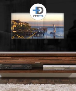 חיפוי זכוכית עם טלויזיה