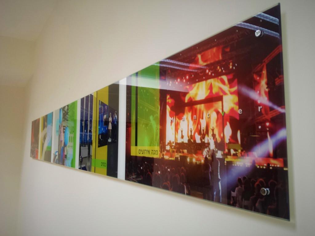 הדפסה על זכוכית מנטבר אירועים