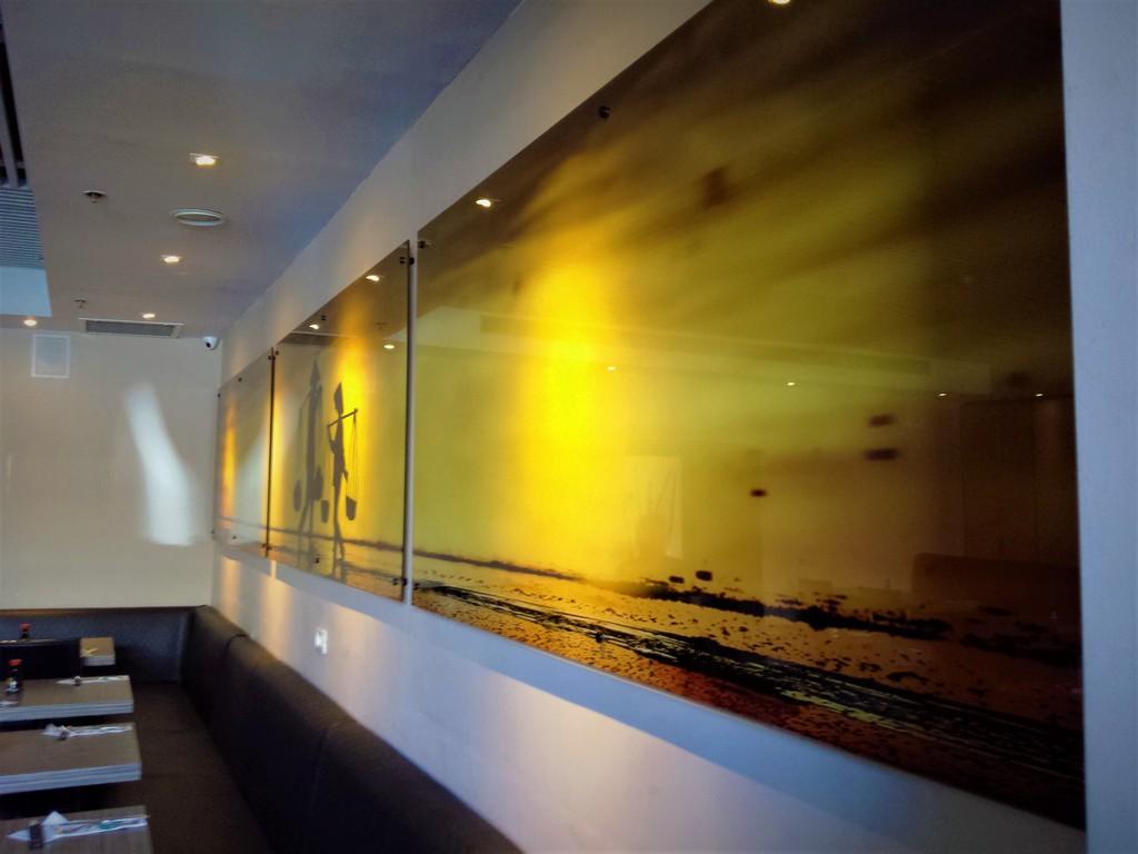 הדפסה על זכוכית מסעדת ריבר
