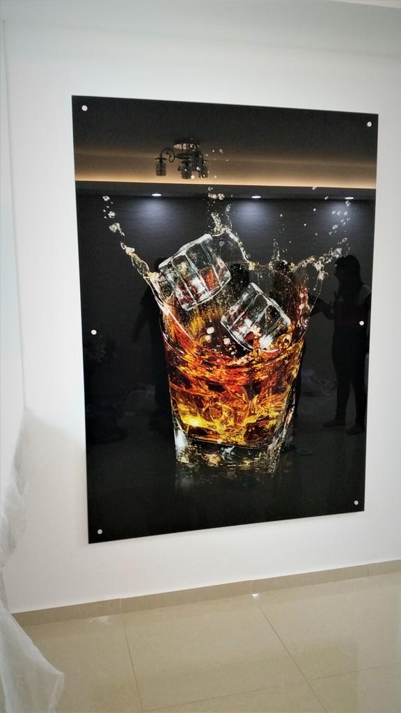 הדפסה על זכוכית כוס ויסקי