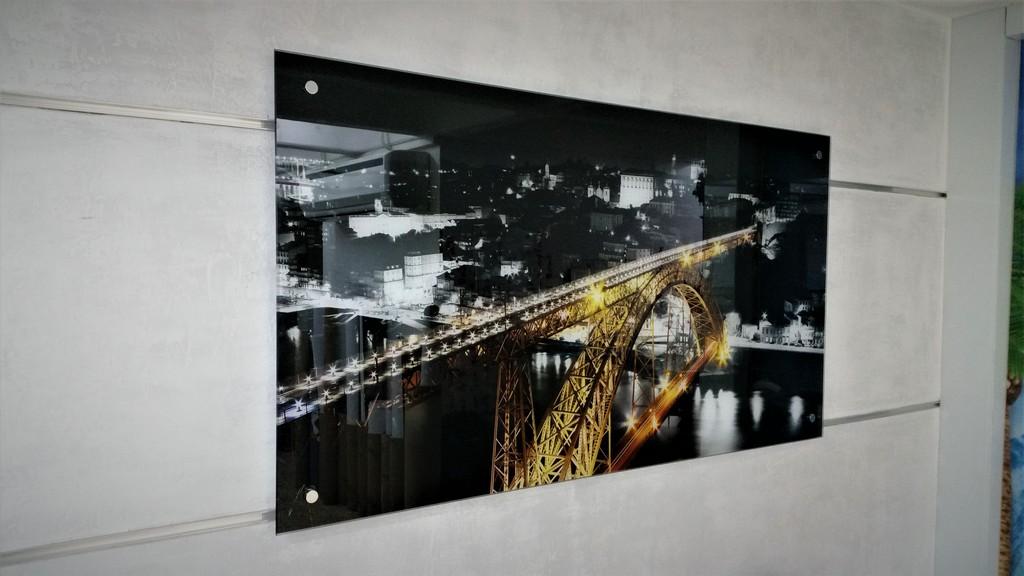 הדפסה על זכוכית נוף ניו יורק
