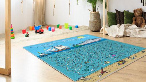 שטיח פי וי סי לחדרי ילדים