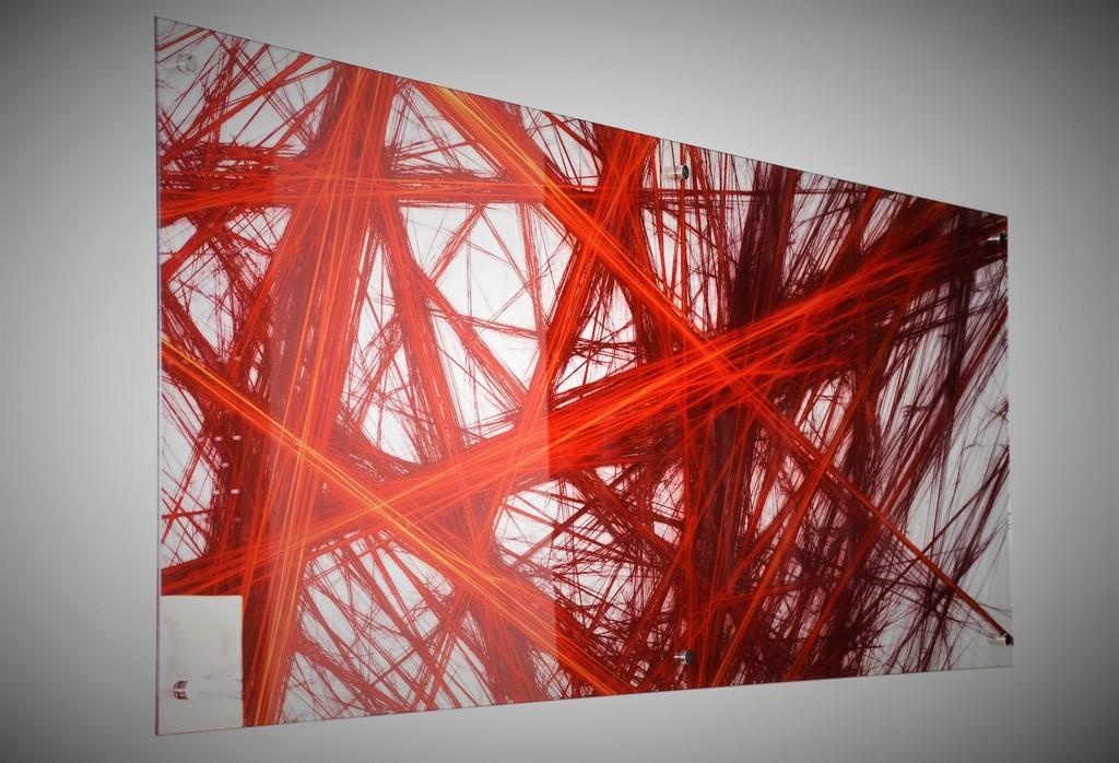 הדפסה על זכוכית לסלון
