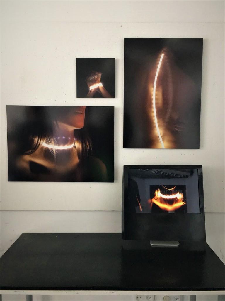 הדפסה על אלומיניום לתערוכה