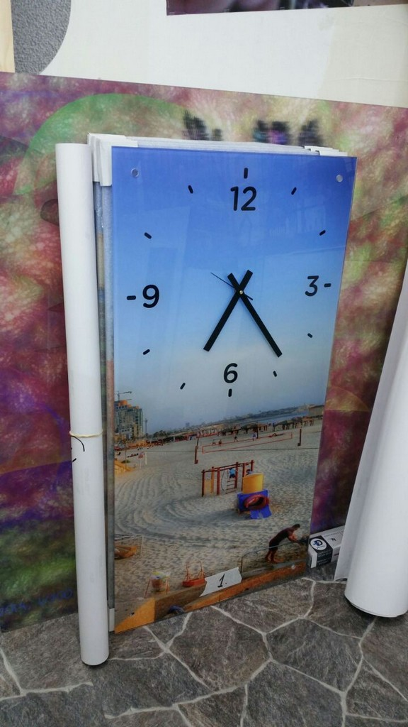 הדפסה על זכוכית שעון