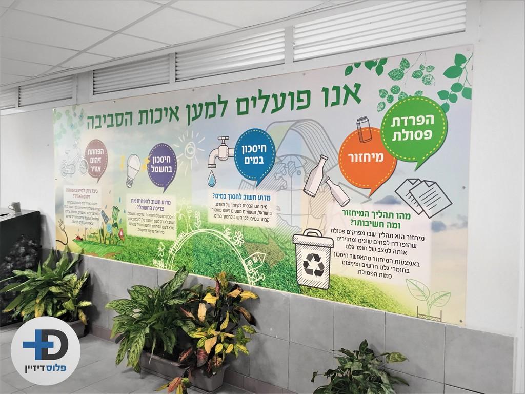הדפסה על אלוקובונד איכות הסביבה