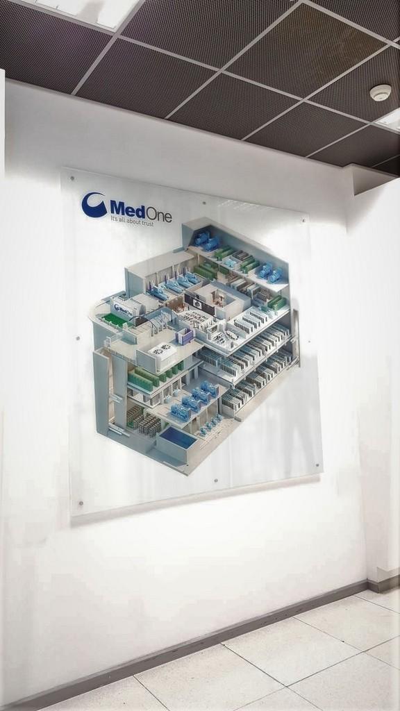 הדפסה על זכוכית MEDONE