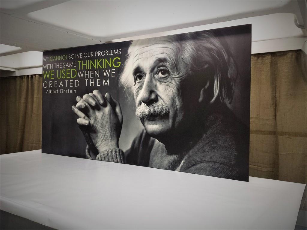 הדפסה על קנבס אינשטיין