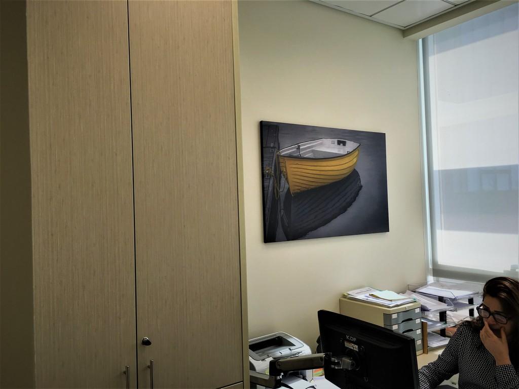 הדפסה על קנבס למשרד