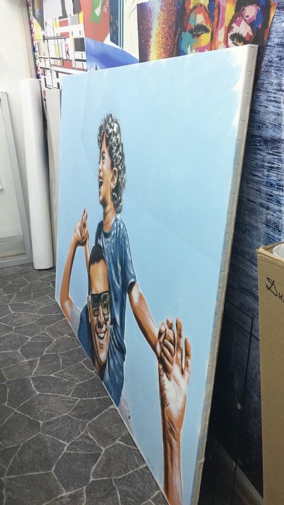 הדפסה על קנבס ענק