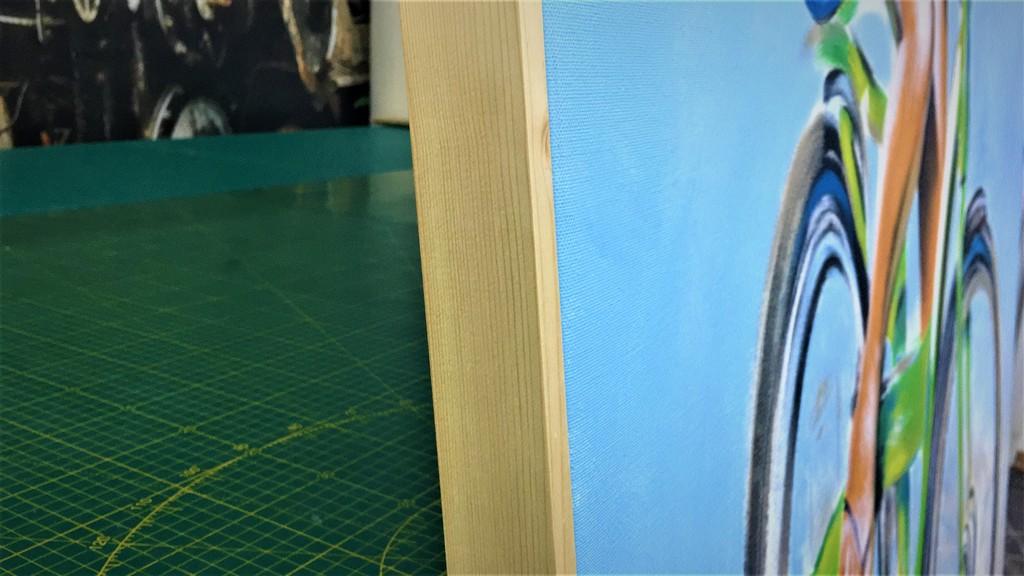 הדפסה על קנבס מסגרת עץ