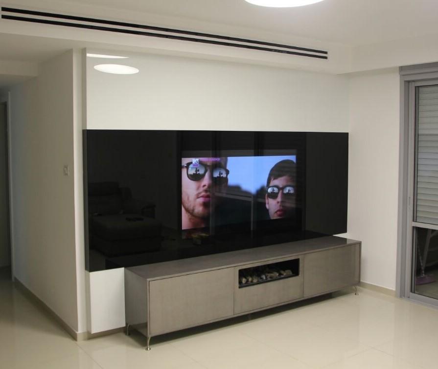 חיפוי זכוכית לטלויזיה