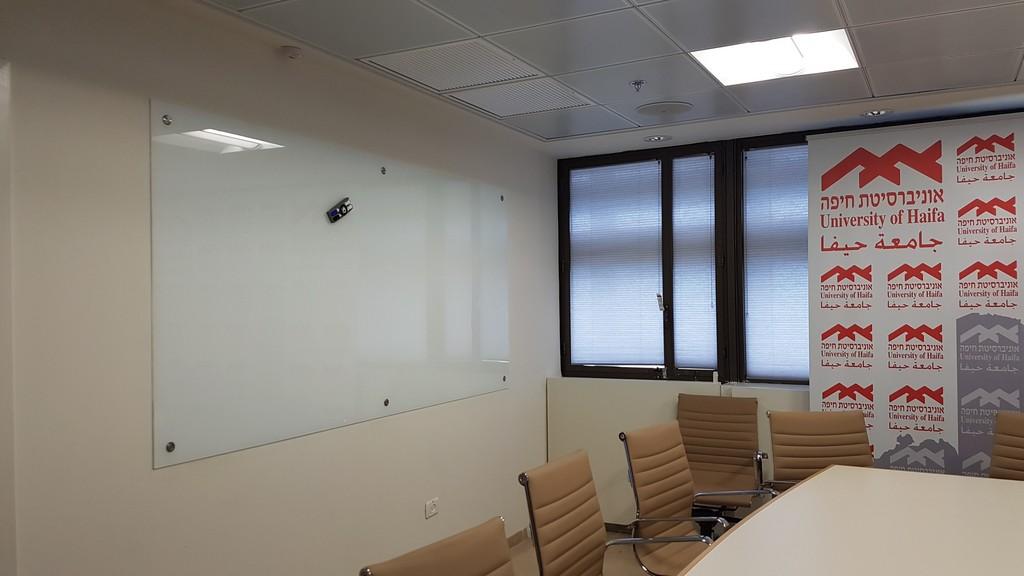 לוח מחיק זכוכית אוניברסיטת חיפה