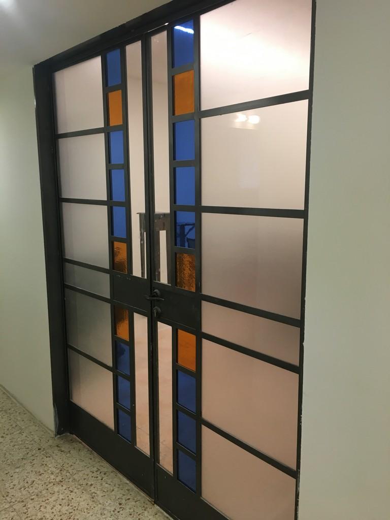 מדבקת התזת חול דלת חלונות