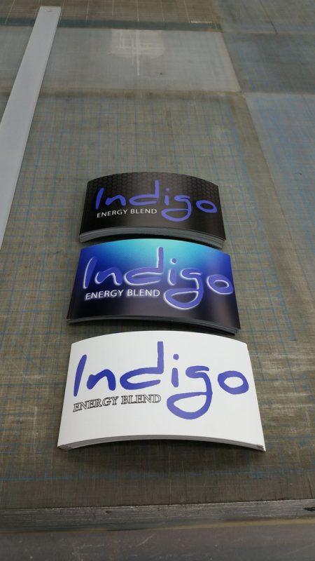 מדבקות אינדיגו