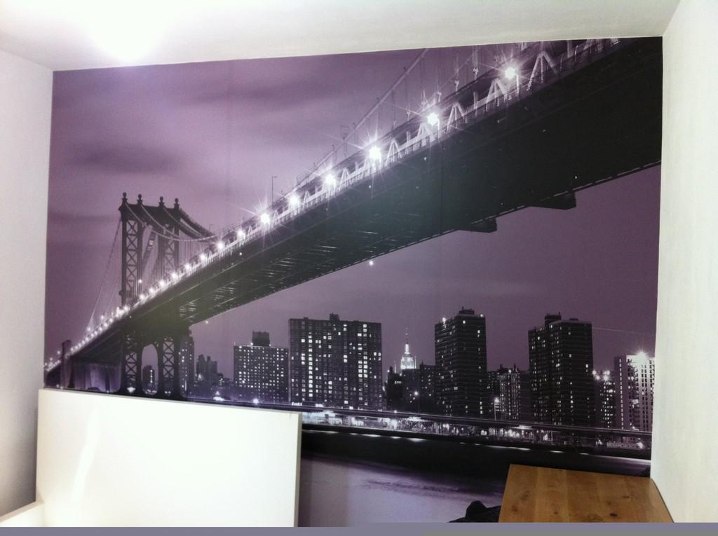 מדבקת קיר ניו יורק