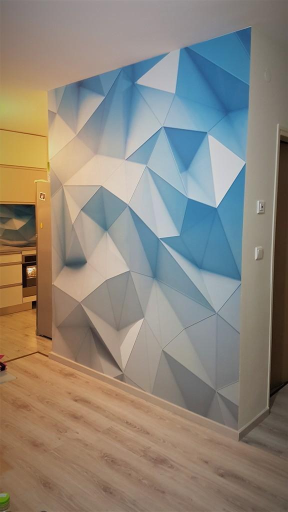 מדבקת קיר תלת מימד
