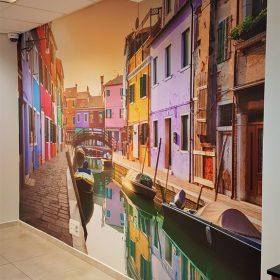 מדבקת קיר ונציה