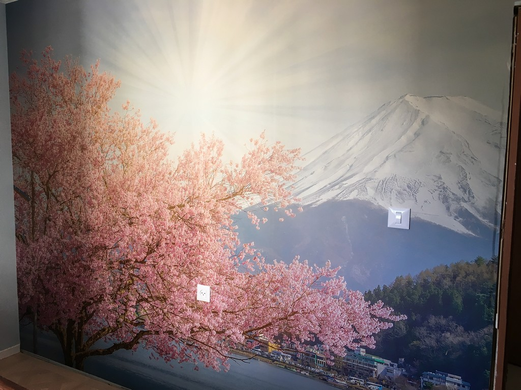 מדבקת קיר יפן