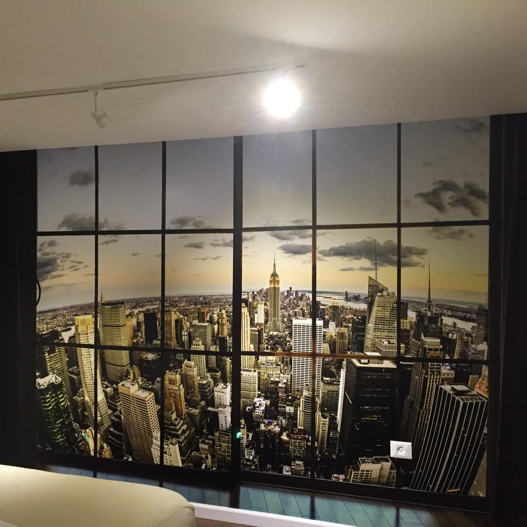 מדבקת קיר תלת מימד ניו יורק