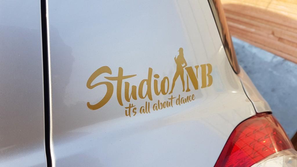 מדבקת לוגו STUDIO NB