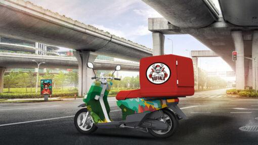מיתוג קטנוע משלוחים