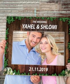 מסגרת צילום לחתונה
