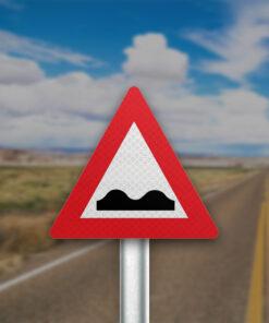 תמרור כביש משובש