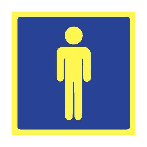 שלט שירותי גברים