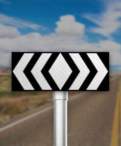 תמרור הדרכה בצומת קמץ