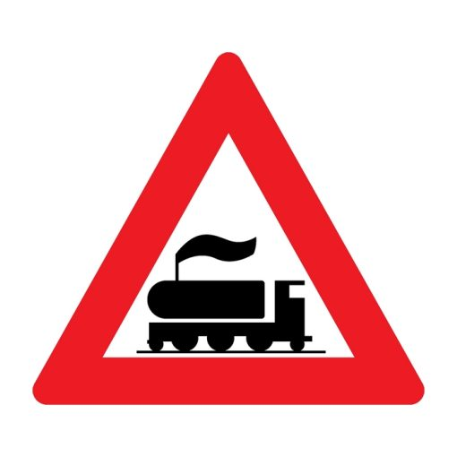 תמרור מפגש מסילת ברזל