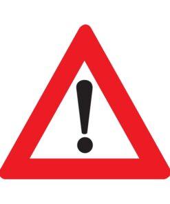 תמרור מקום מסוכן שלגביו לא נקבע תמרור מיוחד