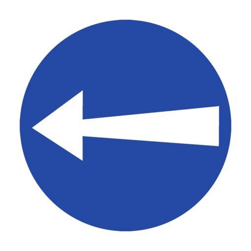 תמרור סע שמאלה