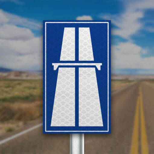 תמרור כניסה לדרך מהירה