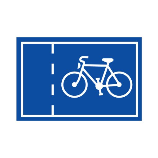 תמרור נתיב חד-סטרי לתנועת אופניים