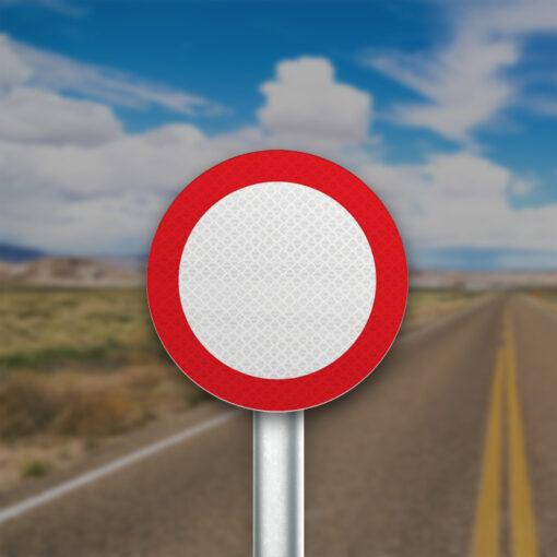 תמרור כביש סגור בשני הכוונים