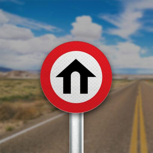 תמרור אזור דרכים עירוניות