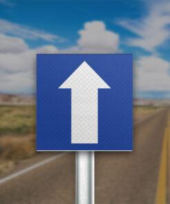 תמרור כביש חד סטרי