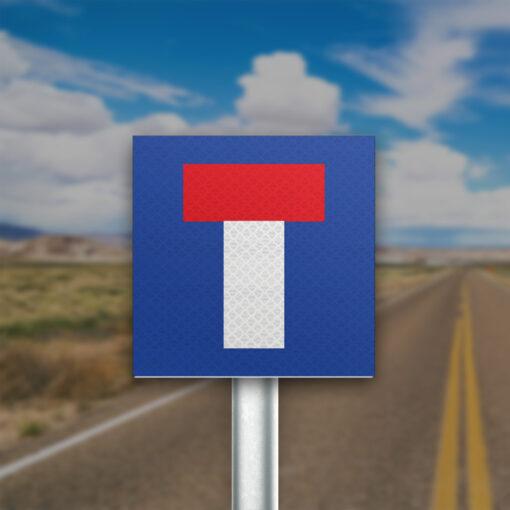 תמרור כביש ללא מוצא