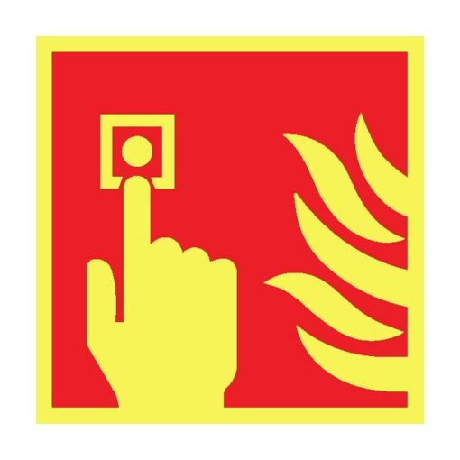 שלט סימון ללחצן אש