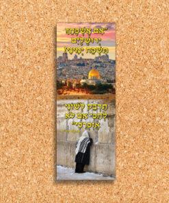 פלקט אם אשכחך ירושלים