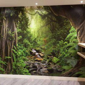 מדבקת קיר תלת מימד יער
