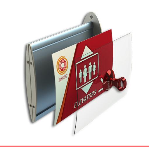 לידר וויו – שילוט דגל אופקי