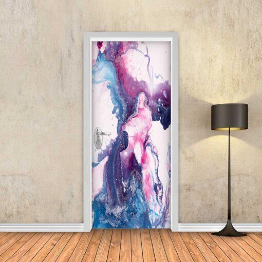 טפט לדלת צבעי מים