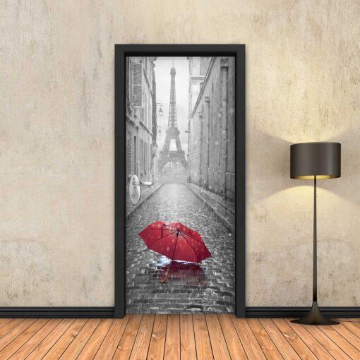 טפט לדלת מטריה בפריז