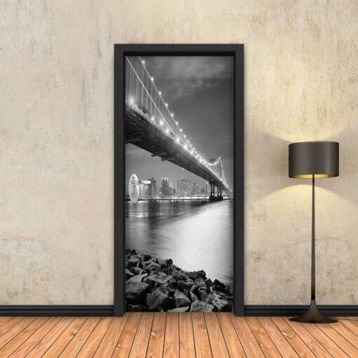 טפט לדלת גשר ברוקלין