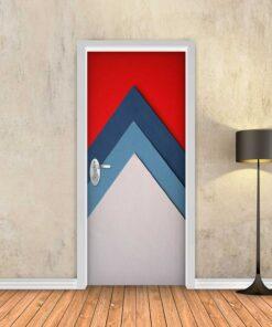 טפט לדלת חצים צבעוני