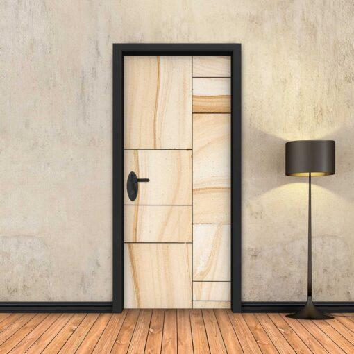 טפט לדלת פלטות עץ