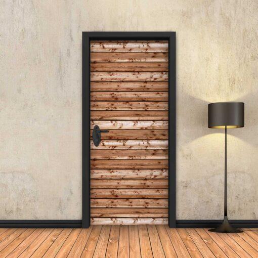 טפט לדלת לוחות עץ עבים