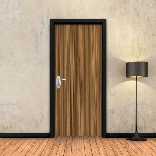 טפט לדלת דיקט כהה